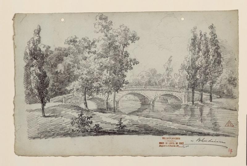 Les jardins de Blenheim (le pont en pierre) ; Blenheim_0