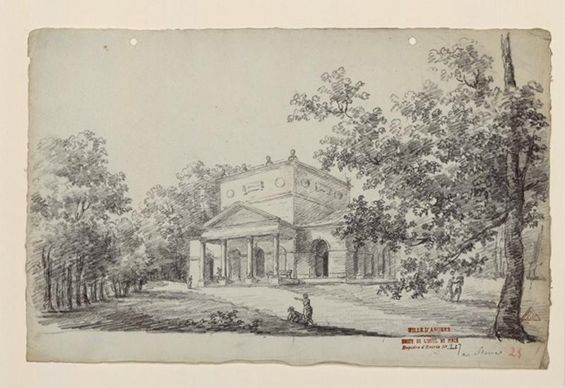 TURPIN DE CRISSE Lancelot Henri Roland, TURPIN DE CRISSE Père (dessinateur, peintre) : Les jardins de Stowe, Stowe