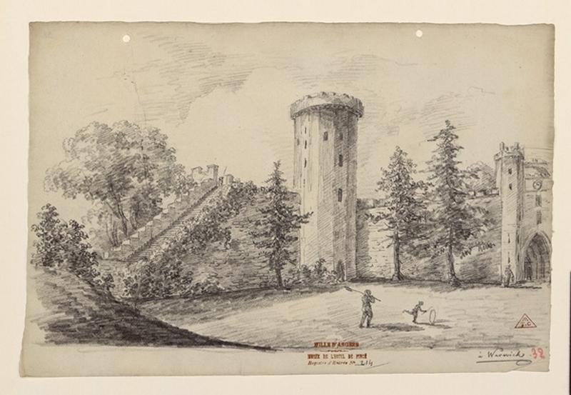 Le château de Warwick ; Warwick_0