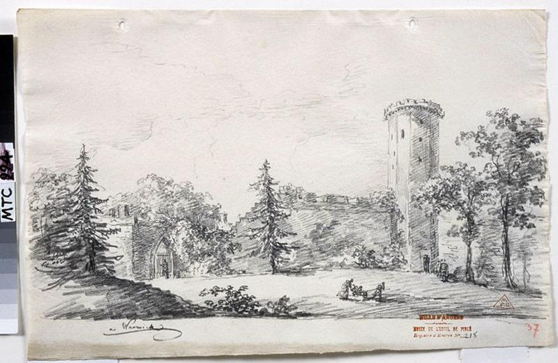 Les jardins du château de Warwick ; Warwick