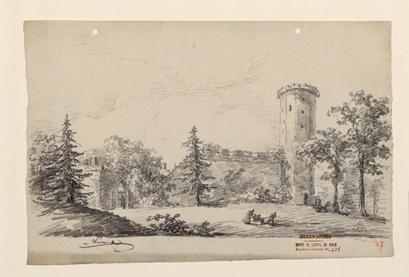 Les jardins du château de Warwick ; Warwick_0