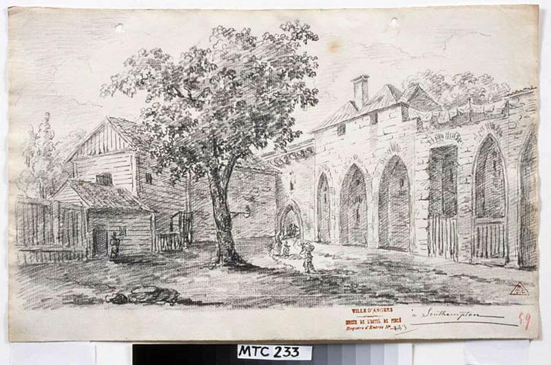 TURPIN DE CRISSE Lancelot Henri Roland, TURPIN DE CRISSE Père (dessinateur) : Southampton