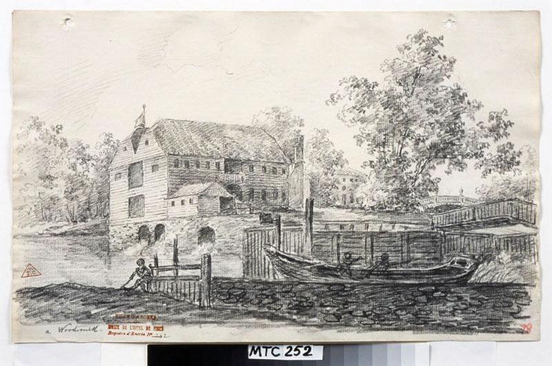TURPIN DE CRISSE Lancelot Henri Roland, TURPIN DE CRISSE Père (dessinateur) : A WoodMill