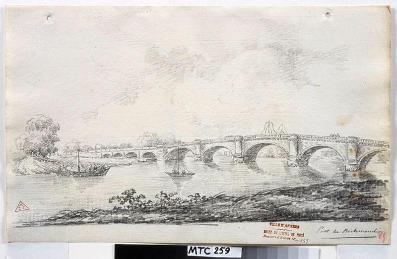 TURPIN DE CRISSE Lancelot Henri Roland, TURPIN DE CRISSE Père (dessinateur) : Pont de Richmond