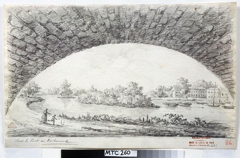 Sous le pont de Richmond