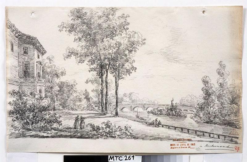 TURPIN DE CRISSE Lancelot Henri Roland, TURPIN DE CRISSE Père (dessinateur) : Richmond, A Richemont