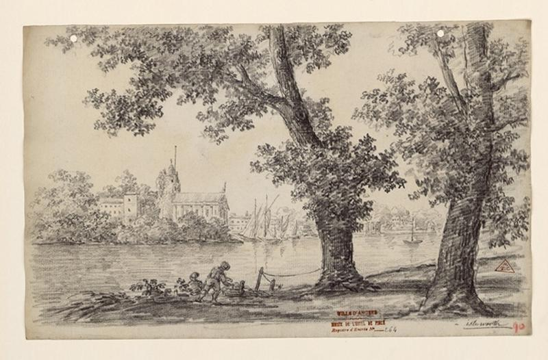 TURPIN DE CRISSE Lancelot Henri Roland, TURPIN DE CRISSE Père (dessinateur) : Isle Worth
