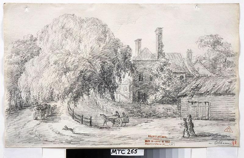TURPIN DE CRISSE Lancelot Henri Roland, TURPIN DE CRISSE Père (dessinateur) : A Cobham