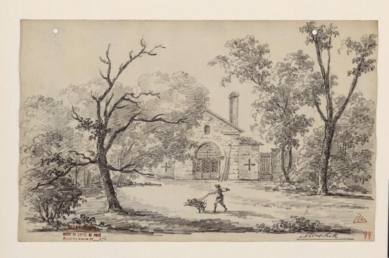 TURPIN DE CRISSE Lancelot Henri Roland, TURPIN DE CRISSE Père : Les jardins de Painshill, A Pains-Hill