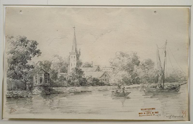 Vue de Chiswick (environs de Londres) ; A Chiswick