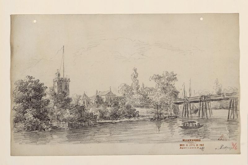 Vue de Putney (environs de Londres) ; A Putney_0