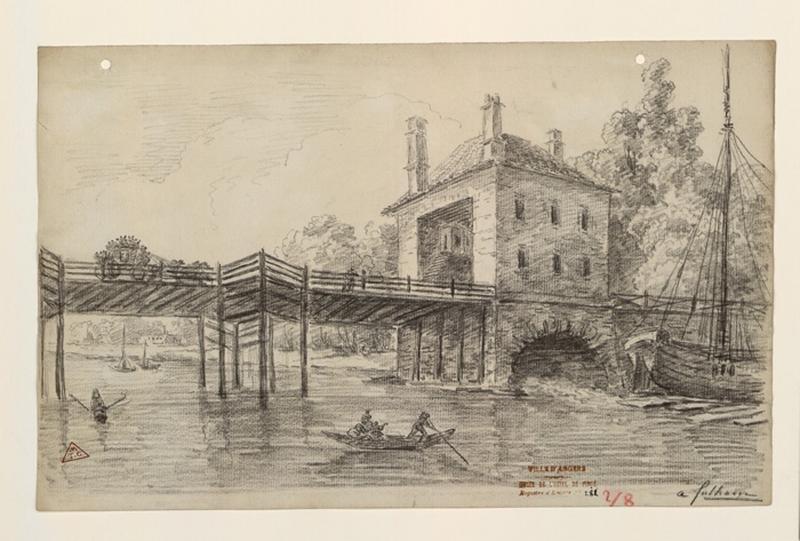 Le pont de Fulham (environs de Londres) ; A Fulham_0