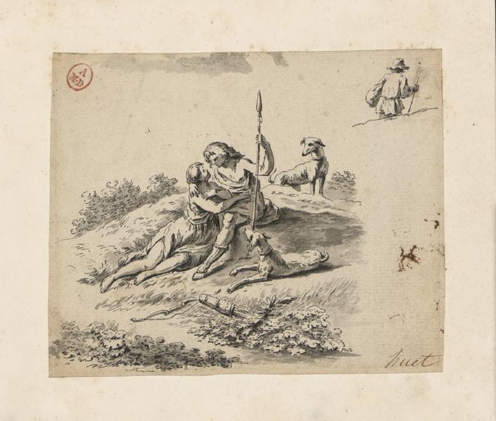 HUET Jean-Baptiste (dessinateur) : Daphnis et Chloé