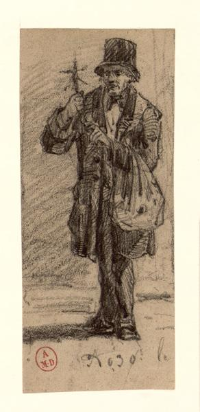 NADAR (dit), TOURNACHON Félix Gaspard : Marchand de polichinels