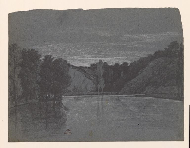 Vue de l'étang Saint-Nicolas_0