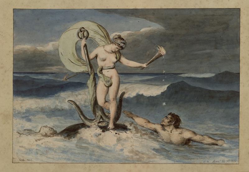 Vénus debout sur les flots_0