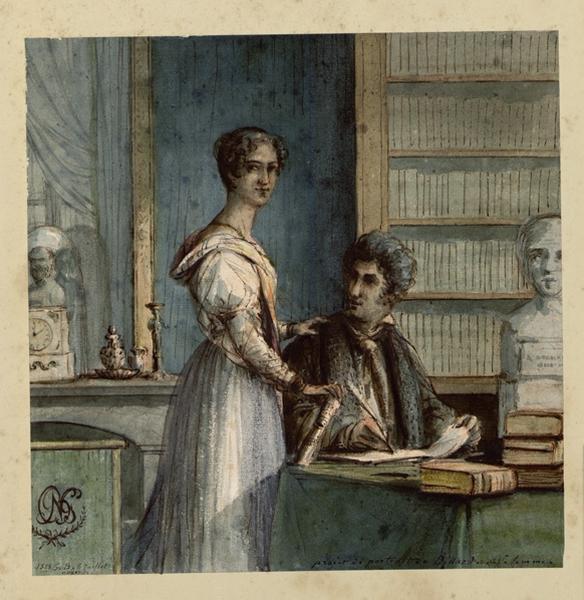 Portrait de Monsieur Bittard et de sa femme