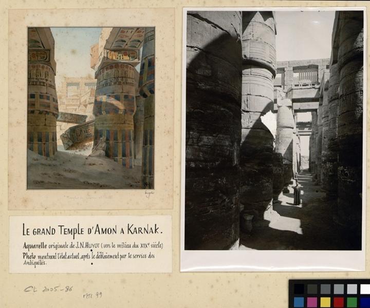 Vue du Temple de Karnak_0
