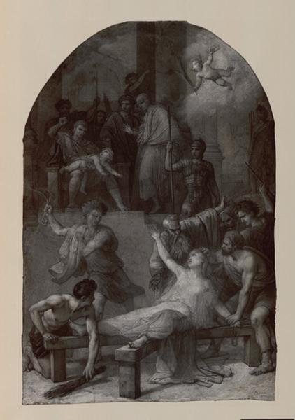 Le martyre de saint Cyr et de sainte Juliette