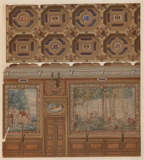 Château de Chantilly, salle de banquets_0