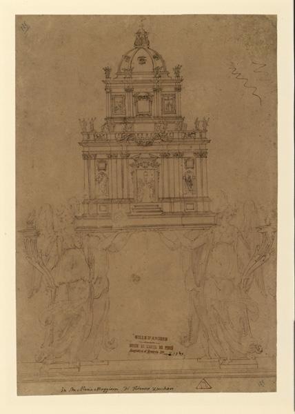 Projet pour un tabernacle ; Composition pour un reliquaire_0