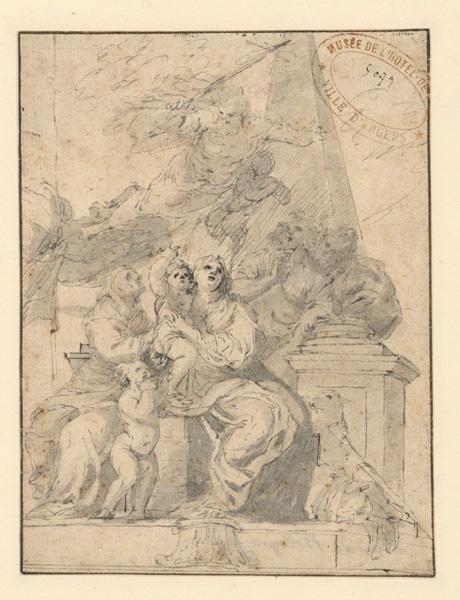 ; La Vierge, l'enfant Jésus et saint Jean-Baptiste (autre titre)_0