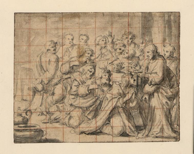 Le Christ donnant la communion aux apôtres_0