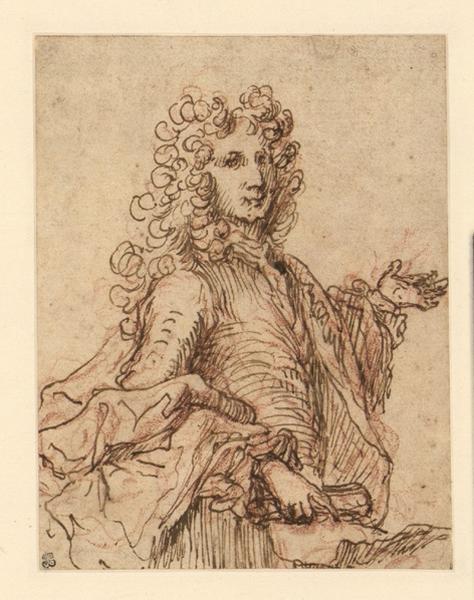 CELLONY Joseph I, CELLONY Joseph Père : Portrait d'homme à perruque