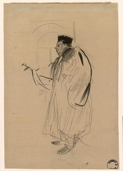 FORAIN Jean-Louis (dessinateur) : Un Avocat