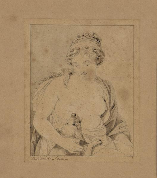 LE BARBIER Jean Jacques François, LE BARBIER l'Aîné (dit) : Le chien fidèle