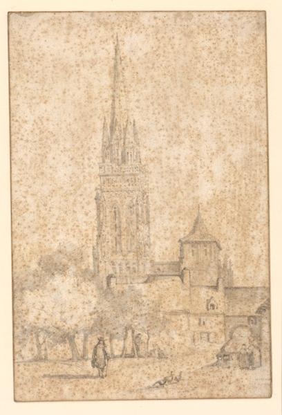 Eglise de village en Bretagne_0