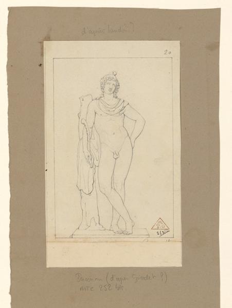 Copie d'une statue antique ; Adolescent_0