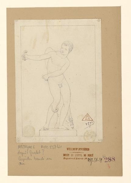 anonyme, TURPIN DE CRISSE Lancelot Théodore (dessinateur) : Cupidon