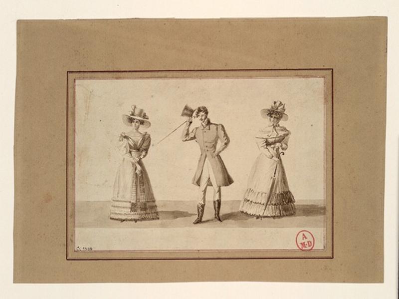 Deux femmes et un homme