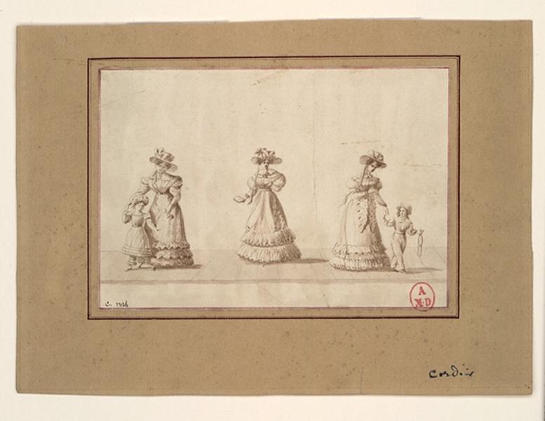 Trois femmes et un enfant_0