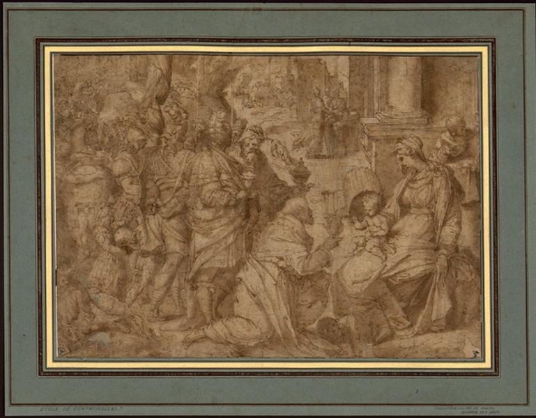 FRANCO Battista (dessinateur) : L'Adoration des Mages