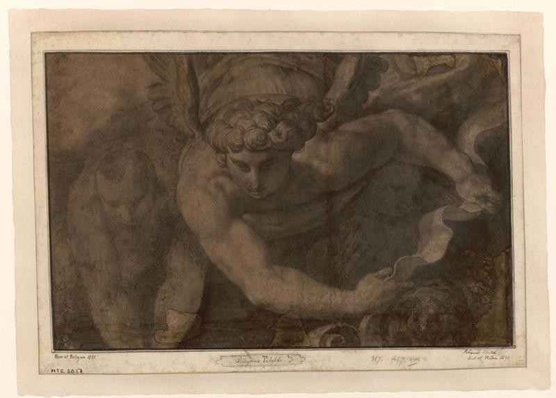 PELLEGRINI Domenico, TIBALDI Domenico (dit) : L'archange saint Michel
