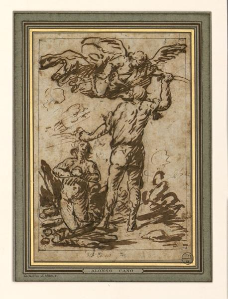 anonyme : Le Sacrifice d'Abraham
