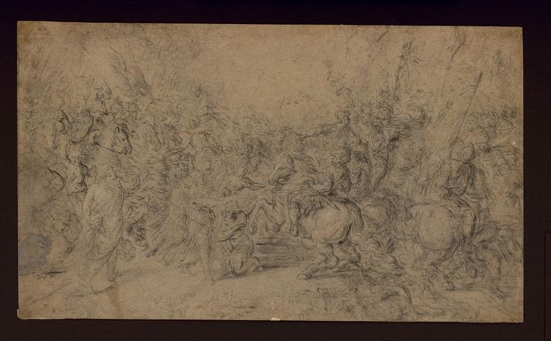 MOLA Pier Francesco (?), MEHUS Lieven (?), GIORDANO Luca (?) : Combat de cavalerie