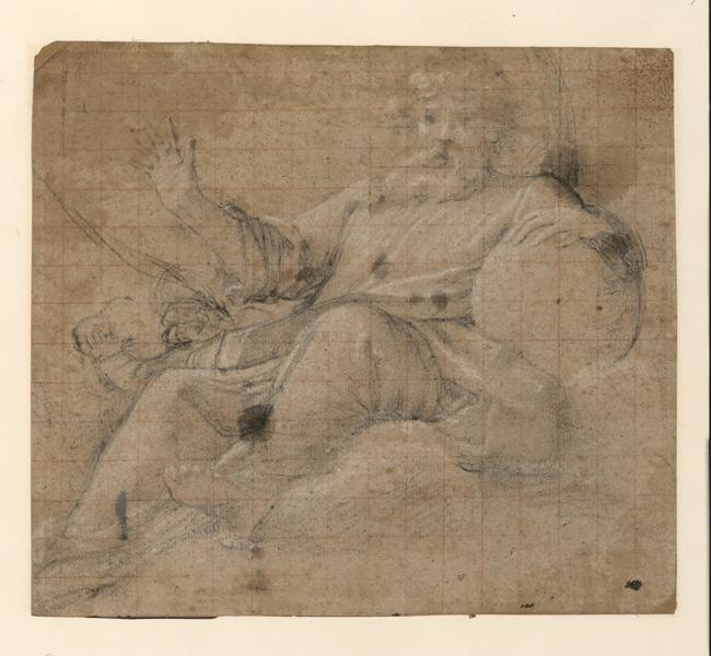 LANFRANCO Giovanni (dessinateur) : Le Père Eternel