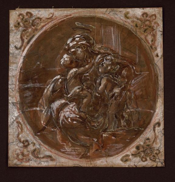 La Vierge à l'Enfant ; La Vierge à l'Enfant et saint Jean (ancien titre)