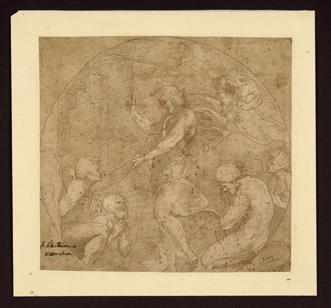anonyme (?, dessinateur), CONCA Sebastiano (?, dessinateur) : Le Christ guérissant les malades