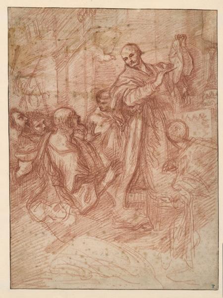 Saint Grégoire et le miracle du corporal ; Le miracle de Bolsène (ancien titre (Recouvreur))_0