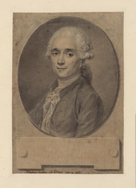 Portrait d'un homme de lettres