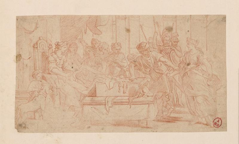 Le partage du butin ; Ulysse et Achille chez les filles de Lycomède