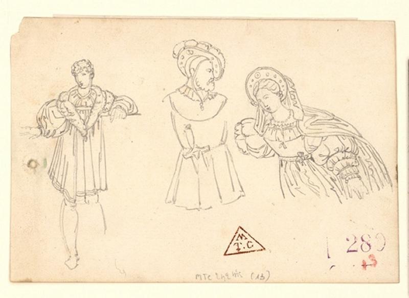 Personnages en costumes Renaissance_0