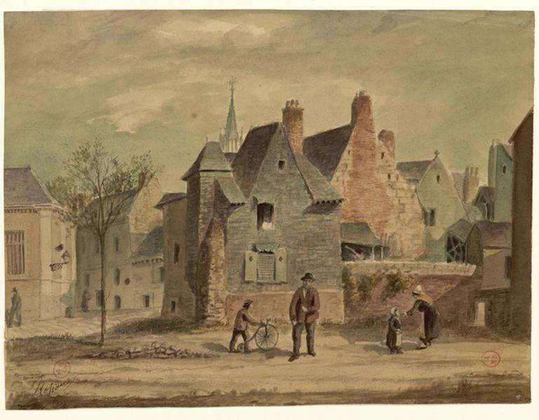 ROHARD Jules (dessinateur) : Boulevard Arago et rue Saint-Jean en 1884 (Titre de C. Labalte)
