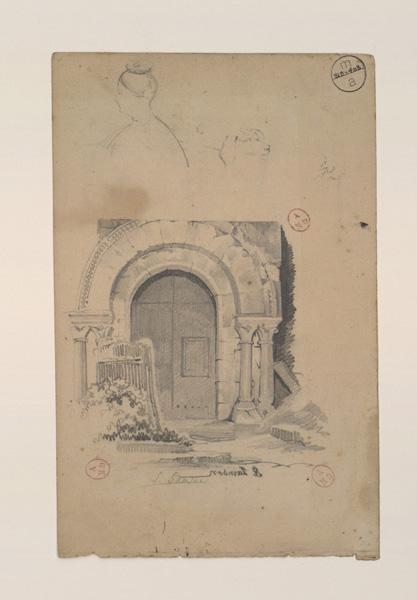 Eglise Saint-Samson, le portail roman