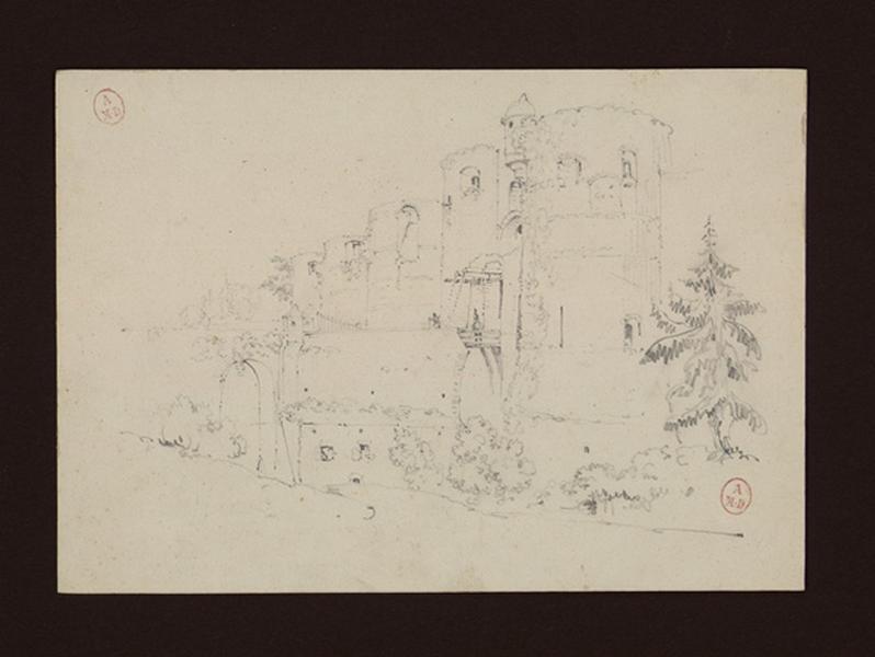 HAWKE Peter (dessinateur) : La porte de la Ville depuis le nord-est (Titre de C. Labalte)