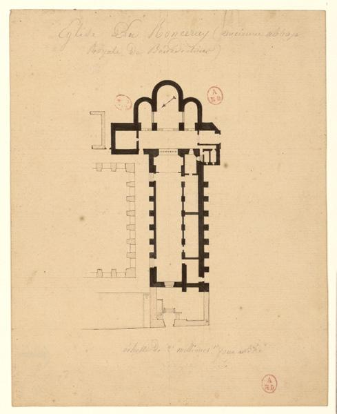 Eglise du Ronceray (ancienne abbaye royale de bénédictines)